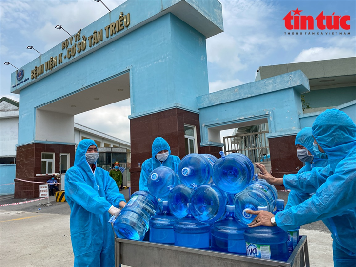 Tình hình dịch Covid-19 ở Việt Nam đang ở mức báo động rất cao