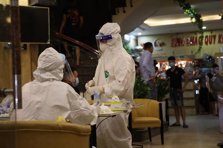 Hà Nội thêm 7 ca F1 ở Thường Tín có kết quả dương tính với virus SARS-CoV-2