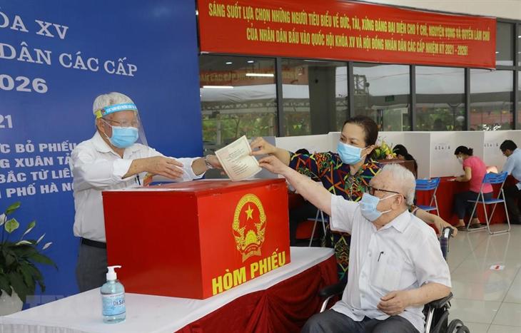 Bầu cử QH và HĐND: Khẳng định sức mạnh đại đoàn kết toàn dân tộc