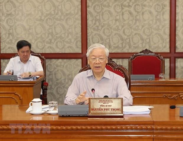 Kết luận của Bộ Chính trị về tăng cường công tác phòng, chống dịch