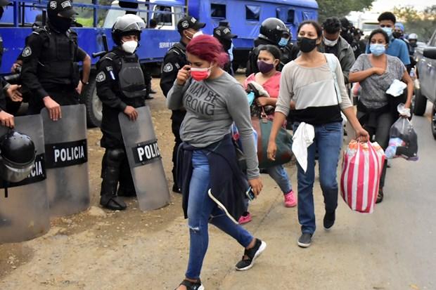 Mỹ, EU hỗ trợ giải quyết cuộc khủng hoảng người di cư ở Trung Mỹ