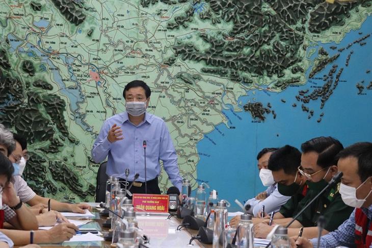 Áp thấp nhiệt đới có khả năng mạnh lên thành bão, đi vào đất liền khu vực Thái Bình đến Thanh Hóa
