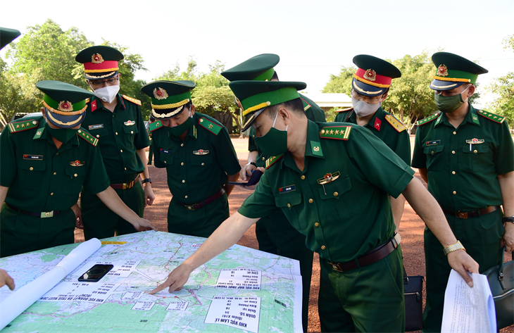 Bảo đảm cho Lễ khánh thành Cụm công trình lưu niệm hành trình cứu nước của Thủ tướng Campuchia Hun Sen thành công, tuyệt đối an toàn