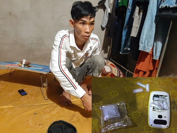 Bắt đối tượng tàng trữ trái phép chất ma túy