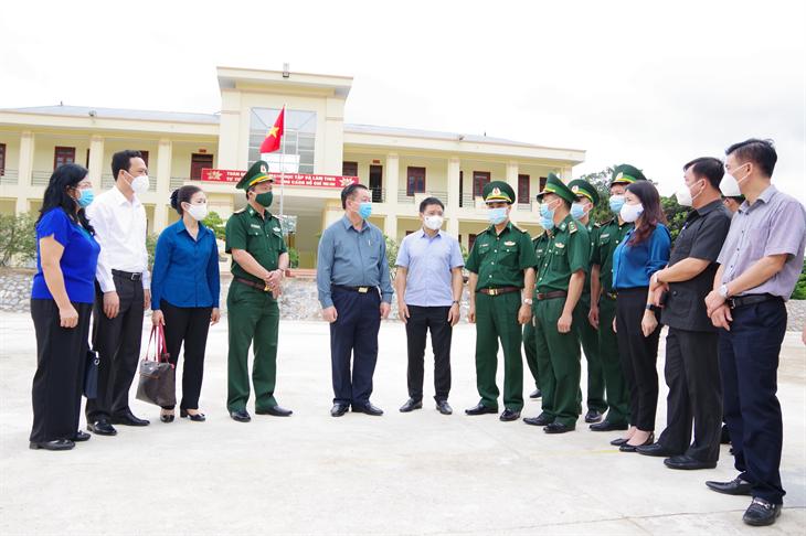Đoàn công tác Ban Tuyên giáo Trung ương thăm và làm việc tại huyện Nậm Pồ, tỉnh Điện Biên