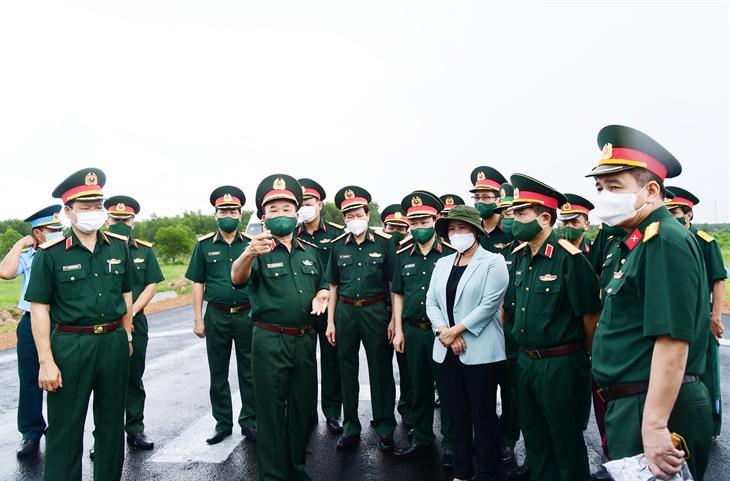 Hoàn tất công tác chuẩn bị cho Lễ khánh thành cụm công trình lưu niệm hành trình cứu nước của Thủ tướng Campuchia Hunsen