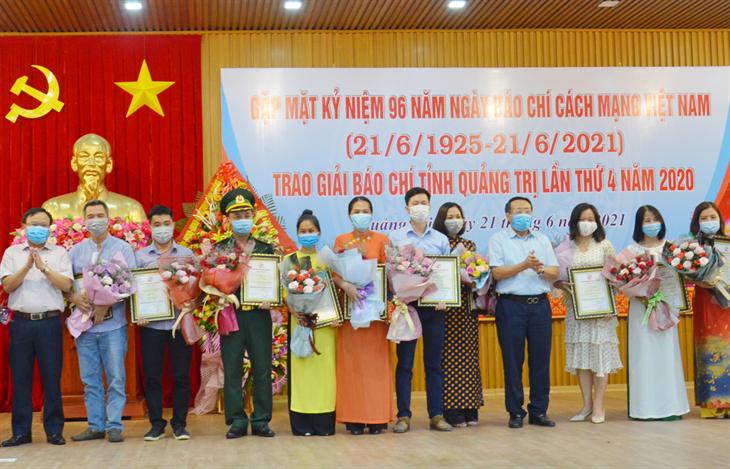 Báo Biên phòng đoạt giải C Giải Báo chí tỉnh Quảng Trị lần thứ 4 năm 2020