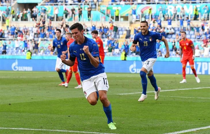 EURO 2020: Italy thắng tuyệt đối, Xứ Wales giành vé vào vòng 1/8