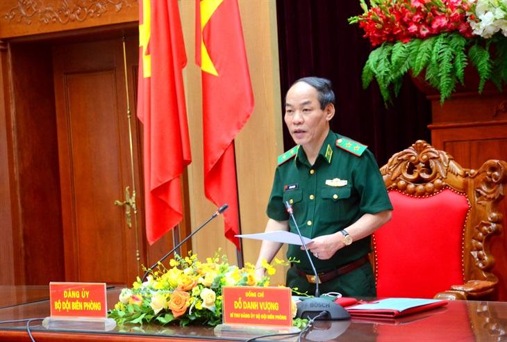 Đảng ủy BĐBP ra Nghị quyết lãnh đạo thực hiện nhiệm vụ 6 tháng cuối năm 2021