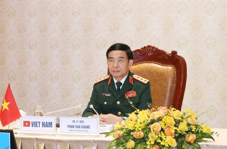 Thượng tướng Phan Văn Giang dự Hội nghị An ninh quốc tế Moscow lần thứ 9