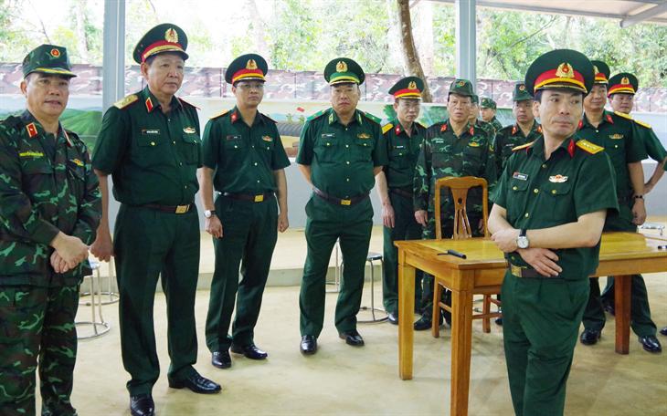 Kiểm tra công tácchuẩn bị tham gia diễn tập phòng thủ của BĐBP Sơn La năm 2021