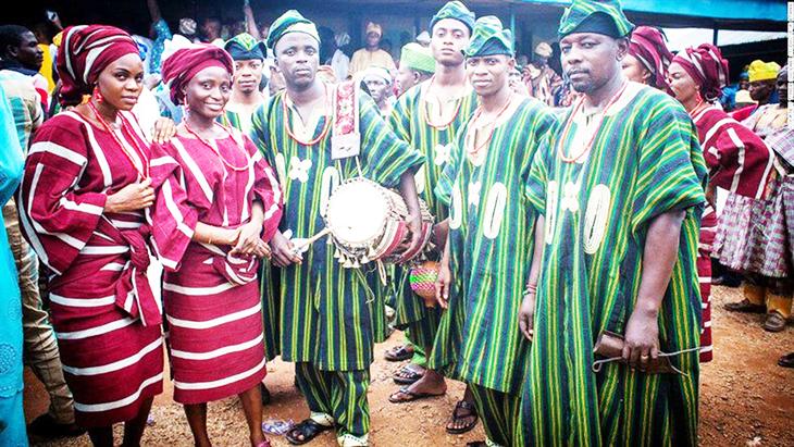 Những tục lệ truyền thống của bộ tộc Yoruba