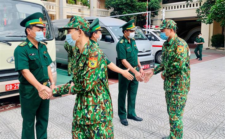 BĐBP Đà Nẵng điều động cán bộ, chiến sĩ làm nhiệm vụ tại các khu cách ly tập trung