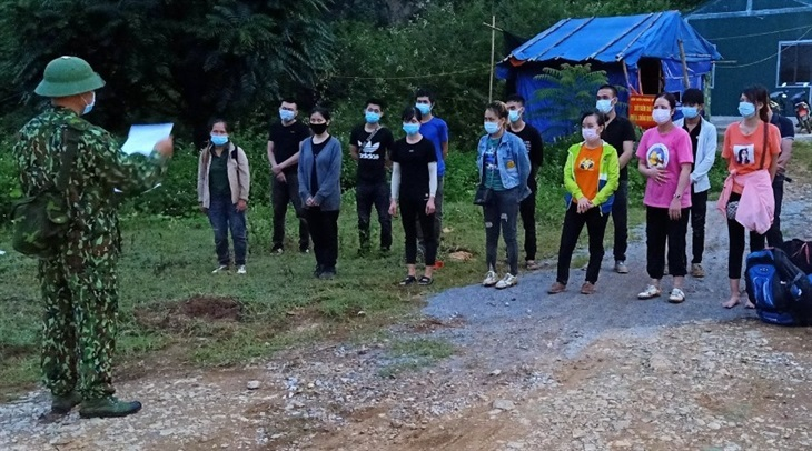 Các đơn vị BĐBP Cao Bằng phát hiện, bắt giữ 40 người nhập cảnh trái phép