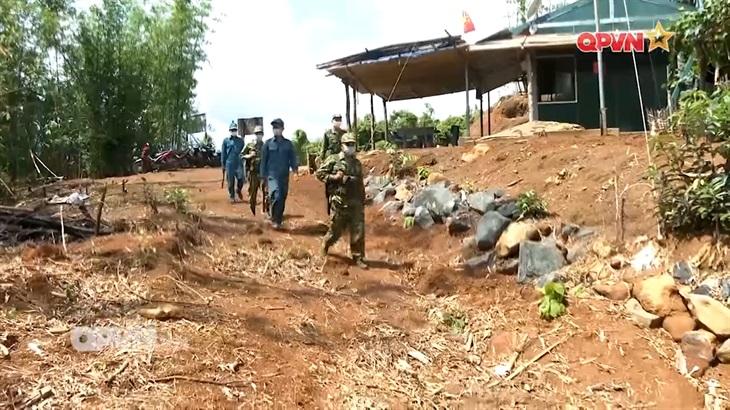 Nỗ lực phòng chống dịch trên biên giới Bình Phước