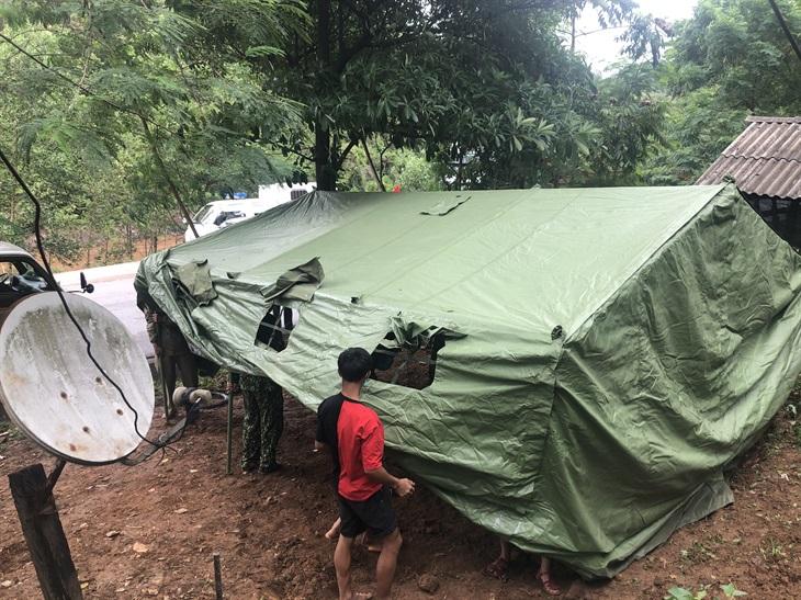 Đồn Biên phòng cửa khẩu quốc tế Cha Lo huy động tối đa lực lượng phòng, chống dịch tại xã Dân Hóa