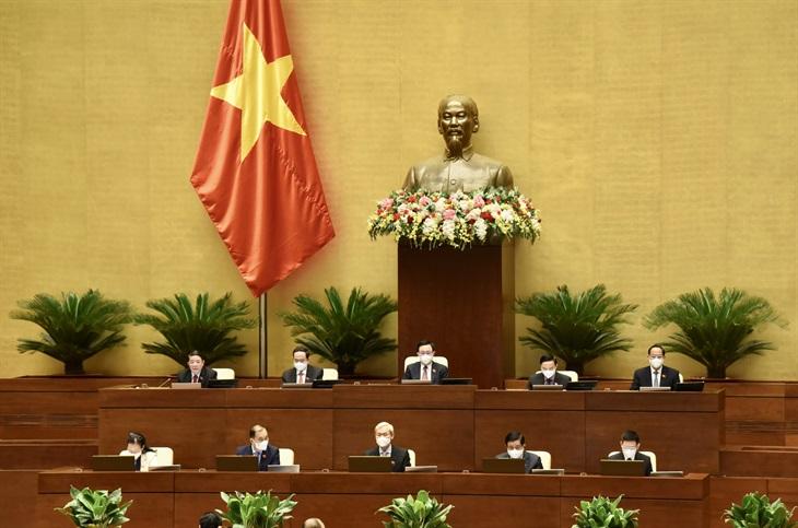 Quốc hội thảo luận kết quả thực hiện kế hoạch phát triển kinh tế - xã hội và phòng, chống dịch Covid-19