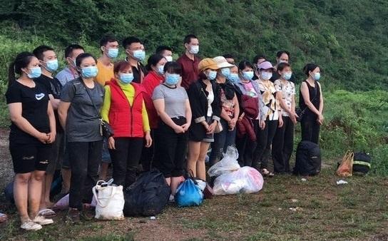 Phát hiện, thu dung 118 công dân nhập cảnh trái phép qua biên giới Cao Bằng