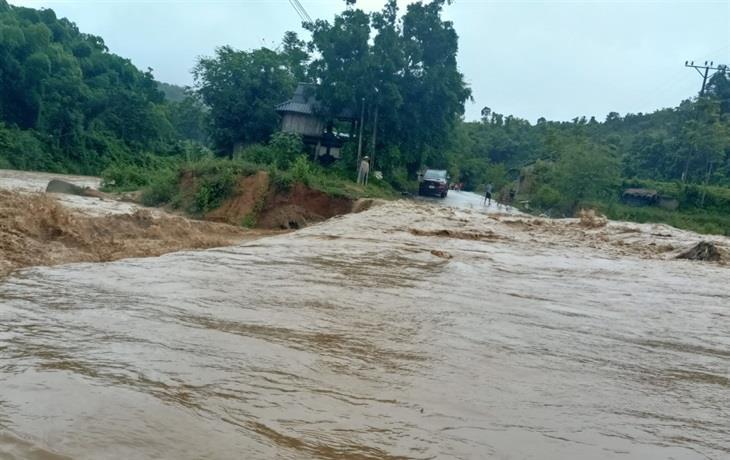 Tập trung khắc phục hậu quả mưa lũ