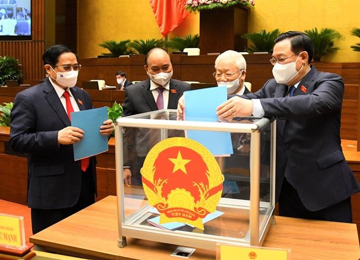 Đại tướng Phan Văn Giang được Quốc hội phê chuẩn giữ chức vụ Bộ trưởng Bộ Quốc phòng