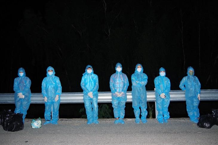 Phát hiện 2 vụ, 9 đối tượng nhập cảnh trái phép trong đêm