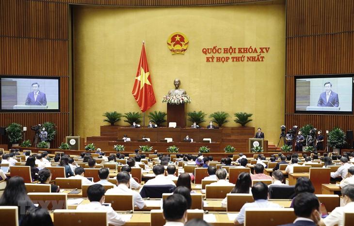 Ngày làm việc cuối cùng của Kỳ họp thứ nhất, Quốc hội khóa XV