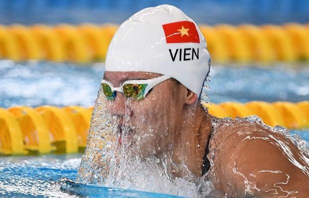 Kình ngư Ánh Viên bước vào tranh tài ở đường đua xanh 800m tự do nữ