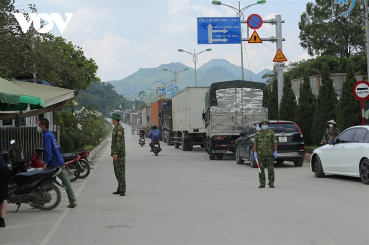 Lạng Sơn siết chặt phòng, chống dịch tại các cửa khẩu