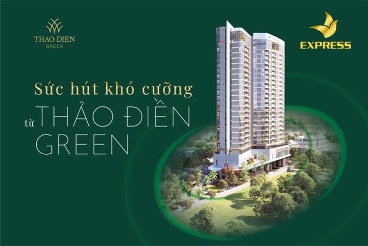 Công ty bất động sản Express: Nhà phân phối chính thức Thảo Điền Green Tower