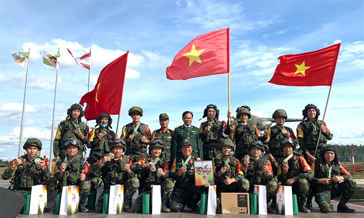 Bộ trưởng Bộ Quốc phòng gửi Thư động viên cán bộ, chiến sĩ tham gia Hội thao quân sự quốc tế Army Games-2021
