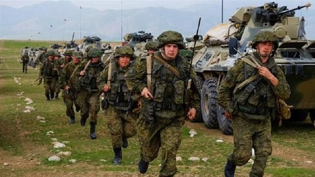 Uzbekistan và Nga diễn tập quân sự chung Phương Nam-2021