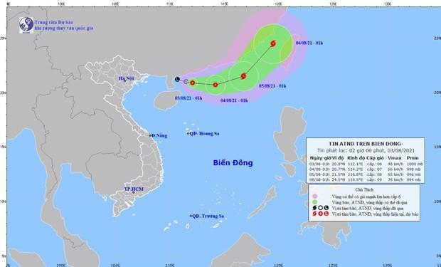 Quảng Ninh đến Thừa Thiên Huế chủ động ứng phó với áp thấp nhiệt đới