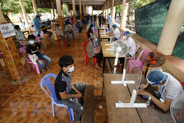 Campuchia: Số ca mắc giảm nhưng biến thể Delta bắt đầu lan rộng