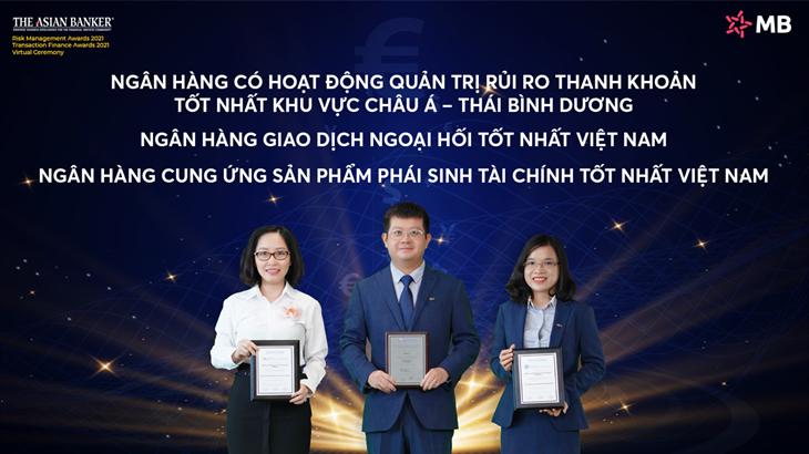 The Asian Banker vinh danh MB 3 giải thưởng lớn