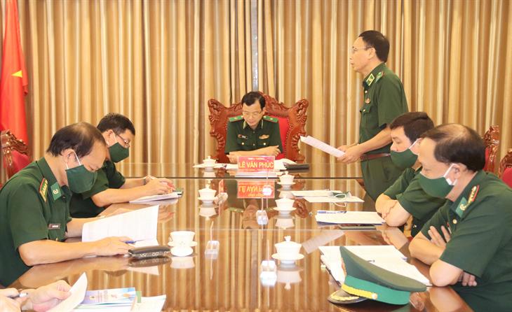 Rà soát, chỉnh lý 2 dự thảo Thông tư quy định chi tiết một số điều của Luật Biên phòng Việt Nam