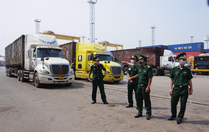 BĐBP thành phố Hải Phòng: Tăng cường công tác phòng, chống dịch Covid-19 tại cảng biển