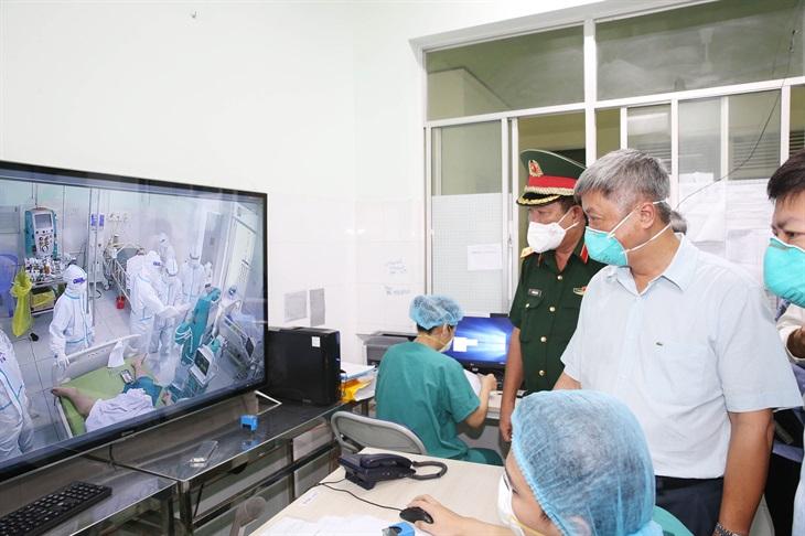 Tổ công tác đặc biệt của Chính phủ kiểm tra công tác phòng, chống dịch tại tỉnh Tiền Giang