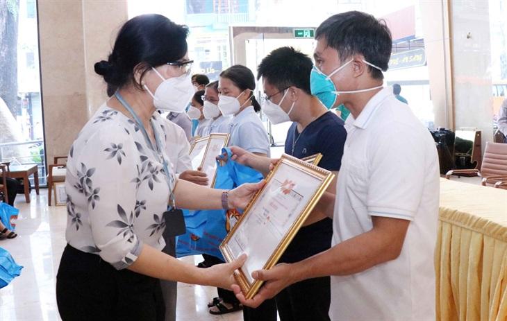 Tri ân 29 tình nguyện viên tôn giáo hoàn thành nhiệm vụ chống dịch nơi tuyến đầu