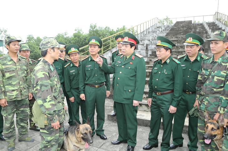 Nguyện noi gương Đại tướng Phùng Quang Thanh, tô thắm thêm phẩm chất cao đẹp Bộ đội Cụ Hồ