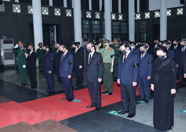 Lời cảm ơn của Ban Lễ tang và gia đình Đại tướng Phùng Quang Thanh