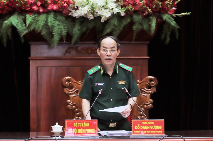 Trung tướng Đỗ Danh Vượng: Chuẩn bị chu đáo ở mức cao nhất cho Hội nghị Tổng kết 10 năm thực hiện Nghị quyết 84-NQ/ĐU của Đảng ủy BĐBP