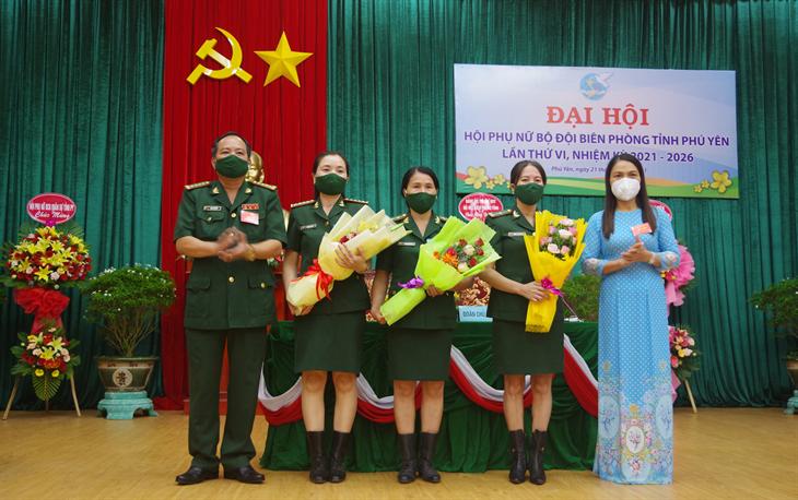 Đại hội Hội Phụ nữ BĐBP Phú Yên lần thứ VI, nhiệm kỳ 2021-2026