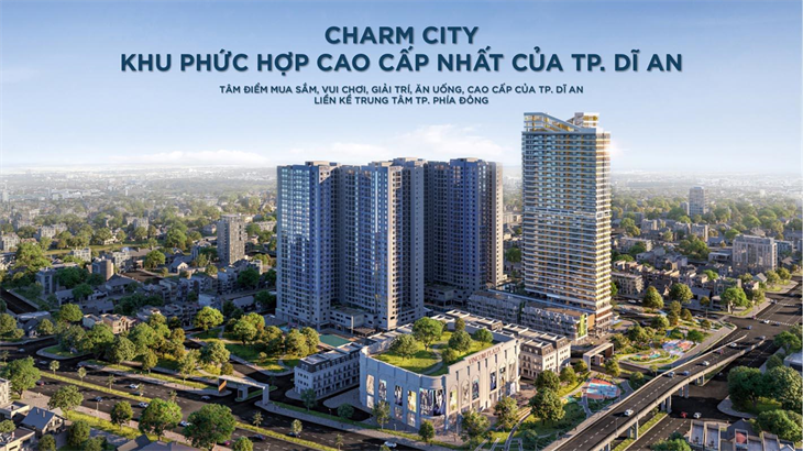 Căn hộ Charm Diamond dự án Charm City sắp sửa mở bán