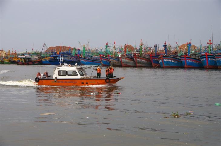 BĐBP Đà Nẵng, BĐBP Bình Định khẩn trương triển khai phòng, chống bão số 6