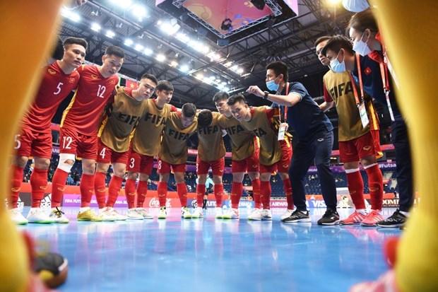 Đội tuyển Việt Nam rời Futsal World Cup 2021 sau trận cầu kịch tính