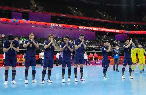 Thêm hai đội bóng châu Á dừng bước ở vòng 1/8 Futsal World Cup 2021