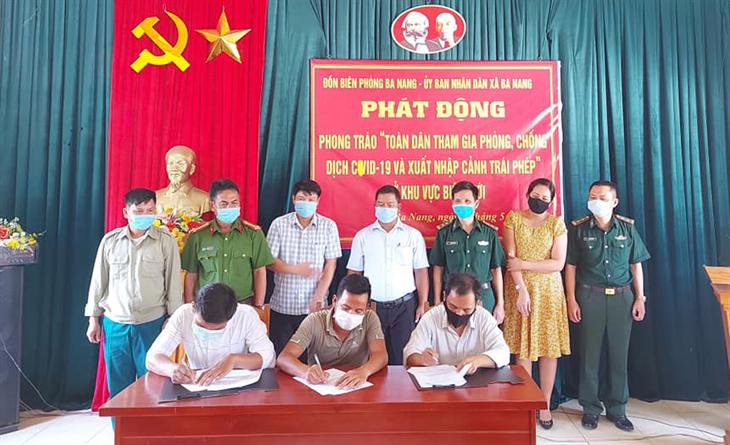 Quyết liệt phòng, chống dịch Covid-19 trên biên giới Việt Nam - Lào (bài 3)