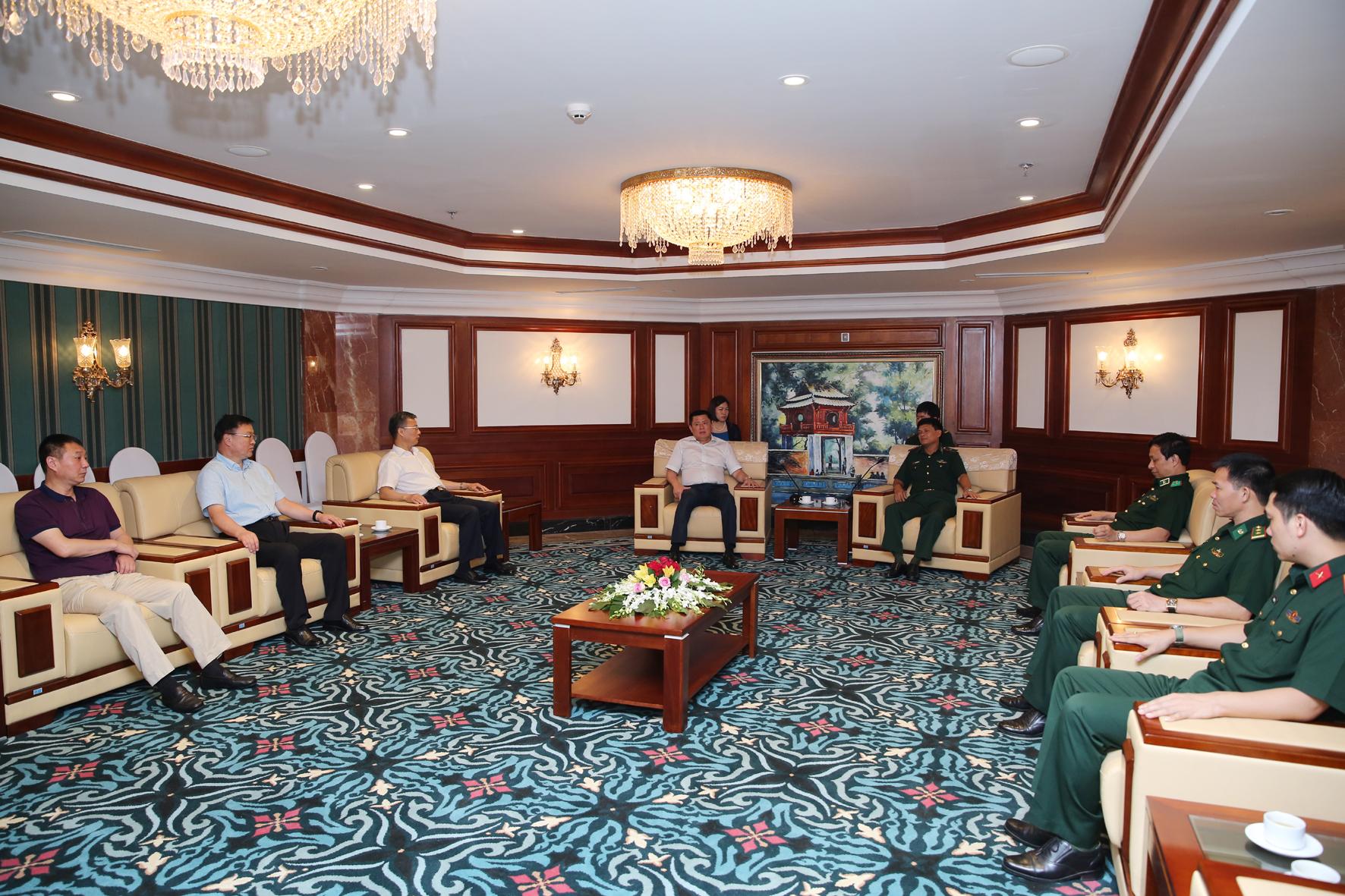 Đoàn đại biểu Biên phòng Trung Quốc kết thúc tốt đẹp chuyến thăm và làm việc tại Việt Nam