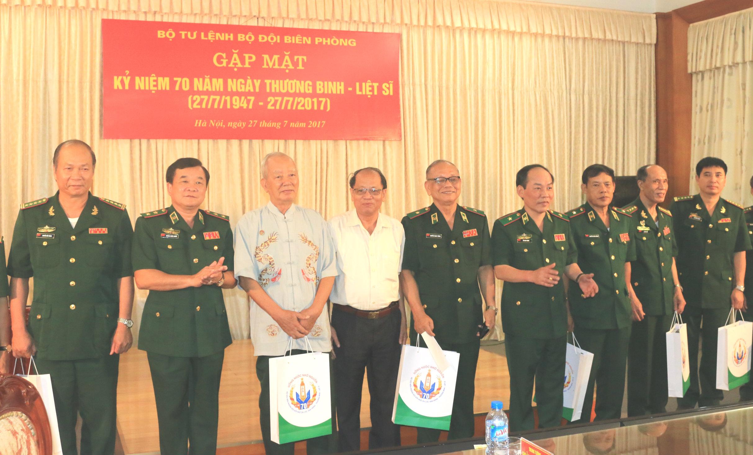 Bộ Tư lệnh BĐBP: Gặp mặt kỷ niệm 70 năm Ngày Thương binh - Liệt sĩ