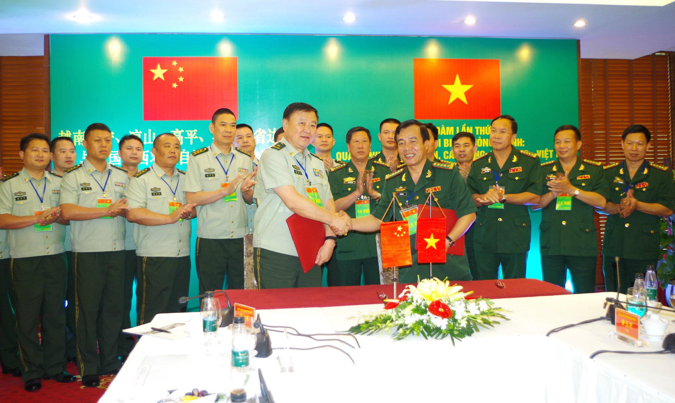 Tăng cường tin cậy, đoàn kết, hữu nghị giữa nhân dân, quân đội hai nước